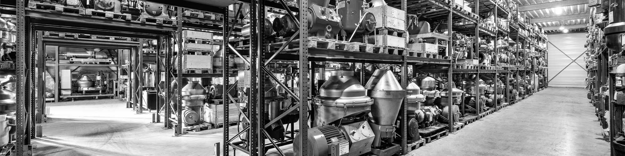 Decanters, separators and centrifuges of Centrimax